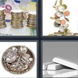 Solutions-4-images-1-mot-ARGENT