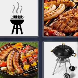Solutions-4-images-1-mot-BARBECUE