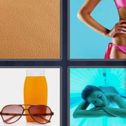 Solutions-4-images-1-mot-BRONZER