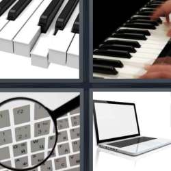 Solutions-4-images-1-mot-CLAVIER