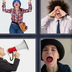 Solutions-4-images-1-mot-CRIER