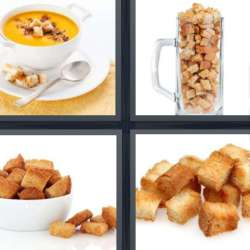 Solutions-4-images-1-mot-CROUTONS