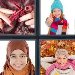 Solutions-4-images-1-mot-ECHARPE