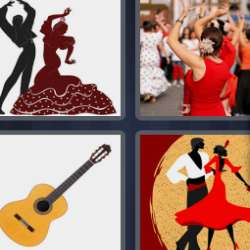 Solutions-4-images-1-mot-FLAMENCO