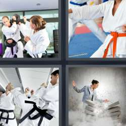 Solutions-4-images-1-mot-KARATE