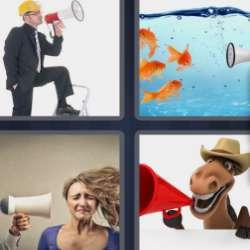 Solutions-4-images-1-mot-MEGAPHONE