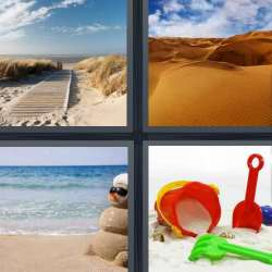 Solutions-4-images-1-mot-SABLE