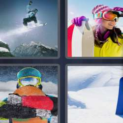 Solutions-4-images-1-mot-SNOWBOARD